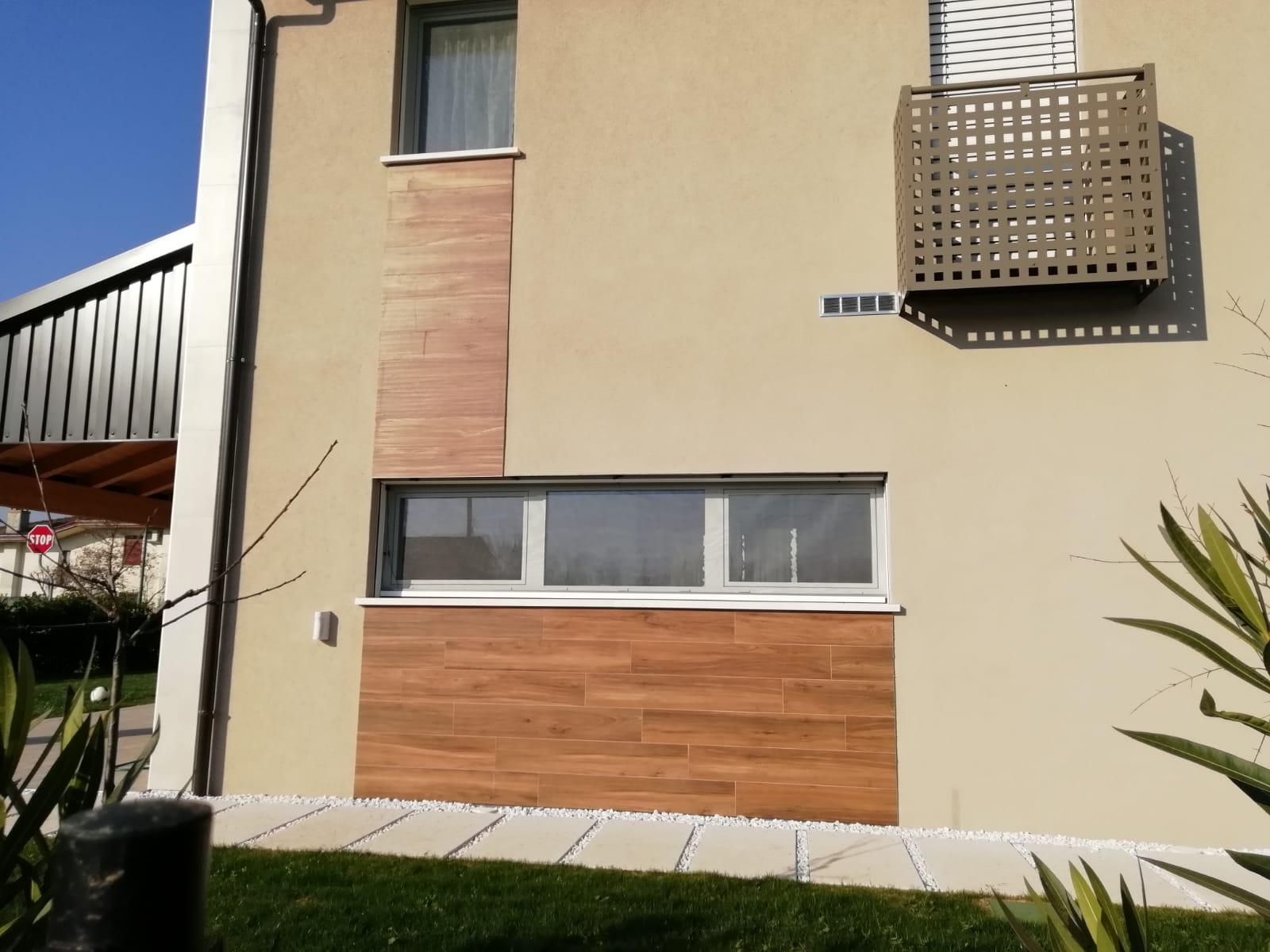Rivestimento Casa In Legno rivestimenti esterni gres effetto legno a castelfranco
